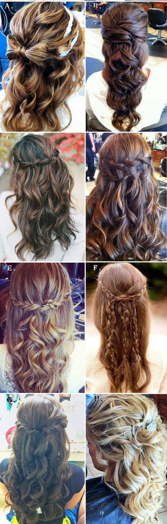 61 best images about Beach Wedding Hair Ideas on Pinterest | Starfish, Updo and Curls