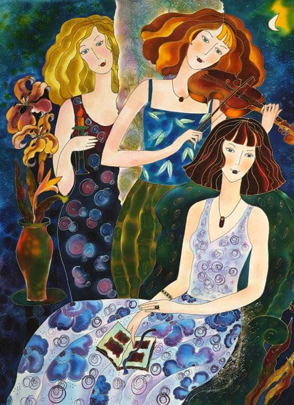 TODAS LAS TUCHAS HACEN ALGO   ///   Evening Glow ~ Yelena Sidorova