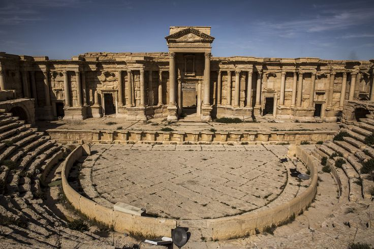 A Jewel in Syria Where 'Ruins Have Been Ruined' by ISIS - The New York Times