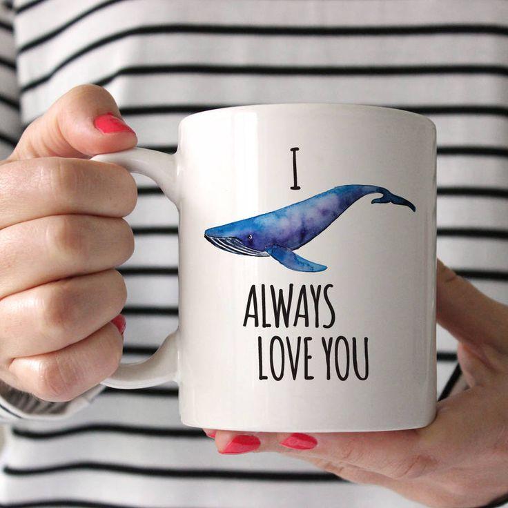 I Whale Always Love You Ceramic Mug