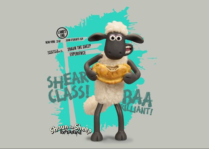 Heading to Cornwall for Easter? Why not pop into the Shaun The Sheep Experience at Land's End? It's Shear Class!