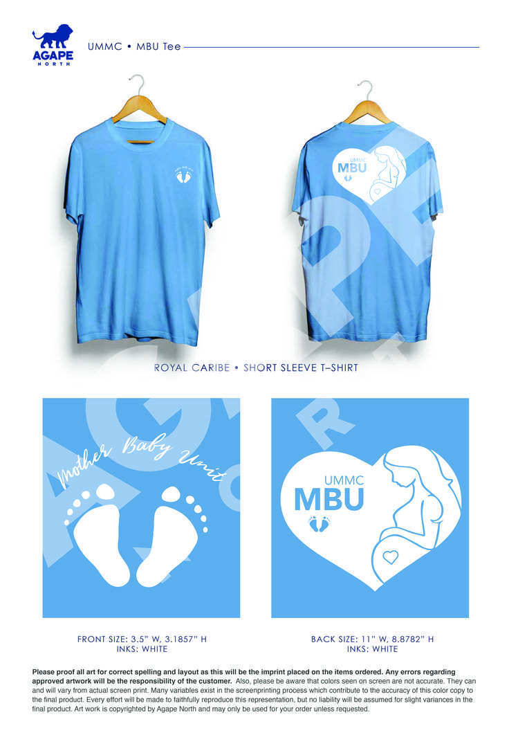 Custom Apparel that Gives Back. #MBU #UMMC