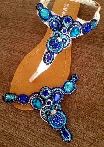 Sandali soutache gioiello