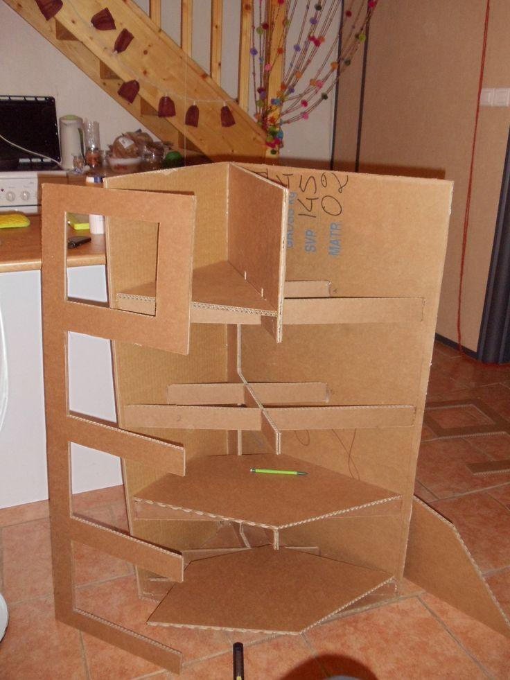 Meuble angle methode embourdage cardboard furniture for Le meuble villageois furniture