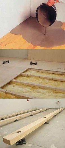 Выравнивание деревянного пола » ремонт квартир cвоими руками