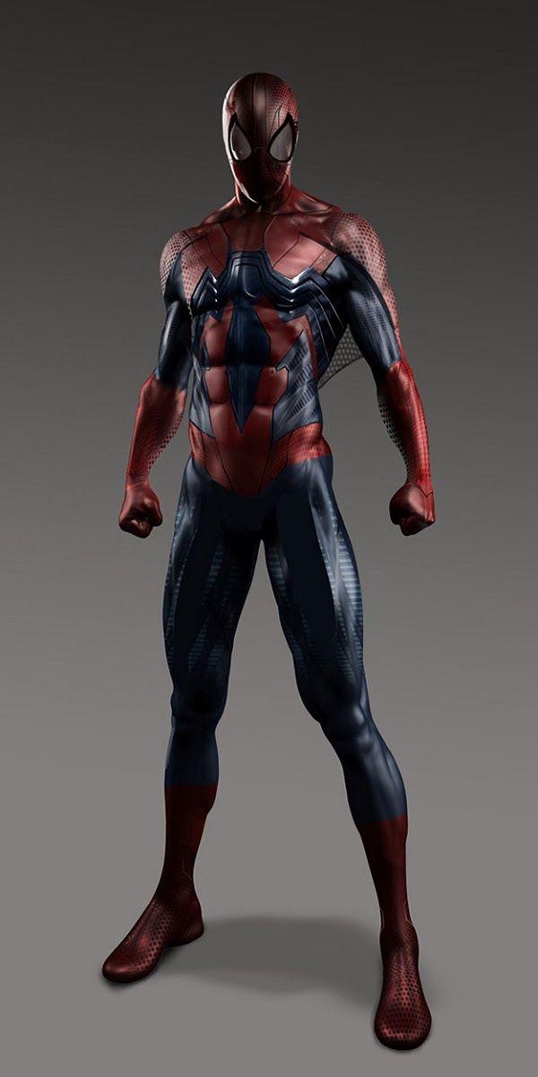 """Artes conceituais mostram trajes alternativos de """"O Espetacular Homem Aranha"""""""
