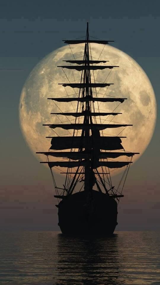 Todo o Esplendor e Fascínio da Lua Cheia...