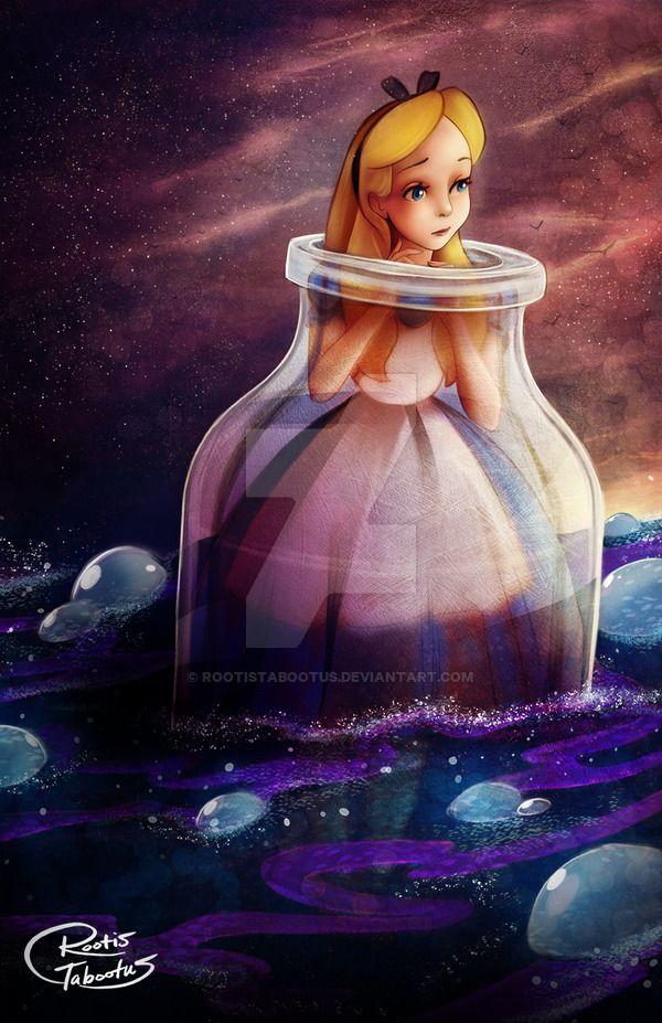 Alice in Wonderland by RootisTabootus.deviantart.com on @DeviantArt