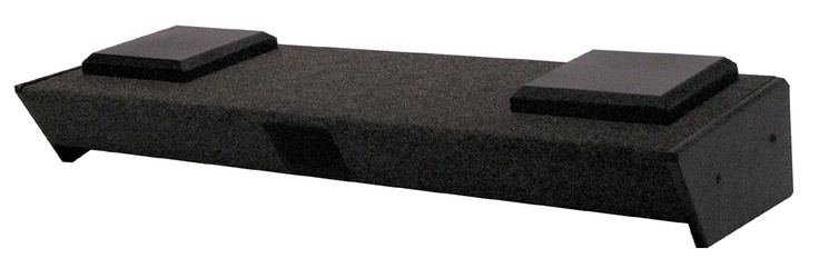 """GM Crew Cab/2nd Row SUV '00-'07 Dual 10"""" Subwoofer Box - Speaker Boxes USA"""