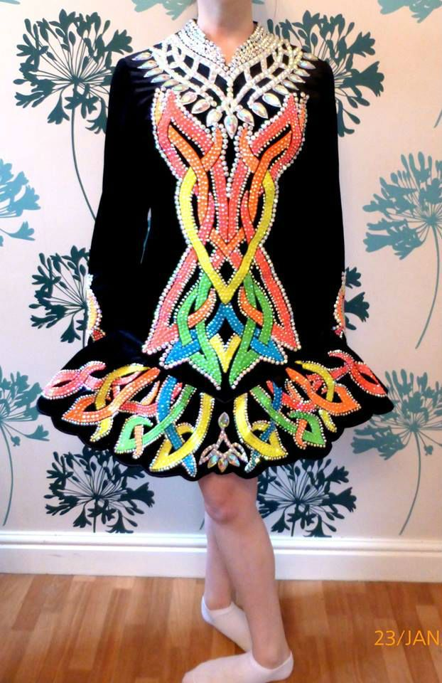 Celtic embroidery dresses images