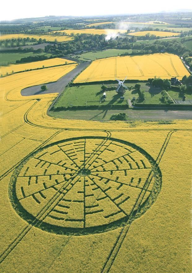Wilton Windmill Crop Circle