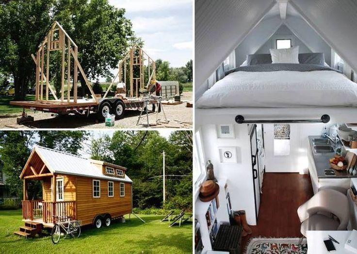 Trailer House Tiny House Camper Tiny House House On Wheels