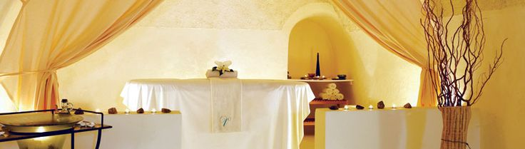 Asian Spa Resorts at Vedema Resort, Santorini, Greece