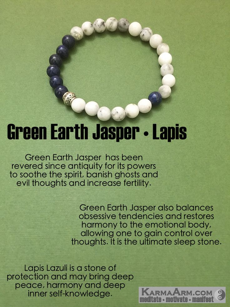 Green #Earth Jasper also balances obsessive tendencies and restores harmony to…