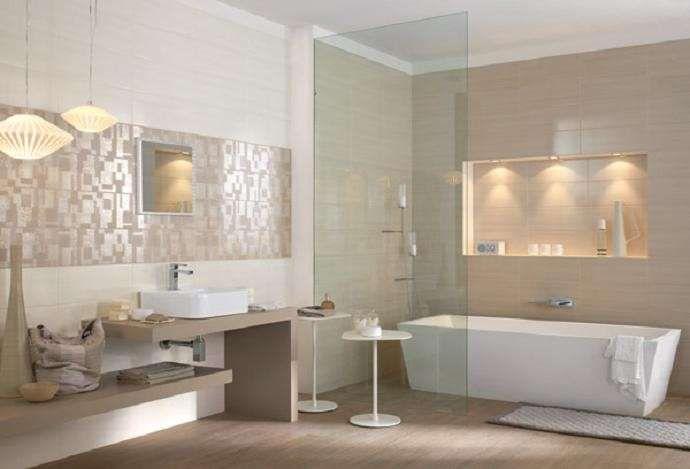Oltre 25 fantastiche idee su pareti piastrellate da bagno - Pitturare il bagno ...