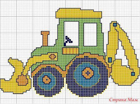 Resultado de imagen para punto de cruz maquinaria de construccion