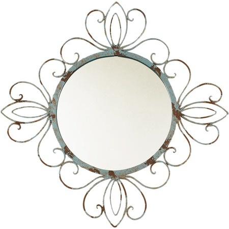 I pinned this Ashton Sutton Lourdes Wall Mirror from the Elements of Surprise event at Joss and Main!