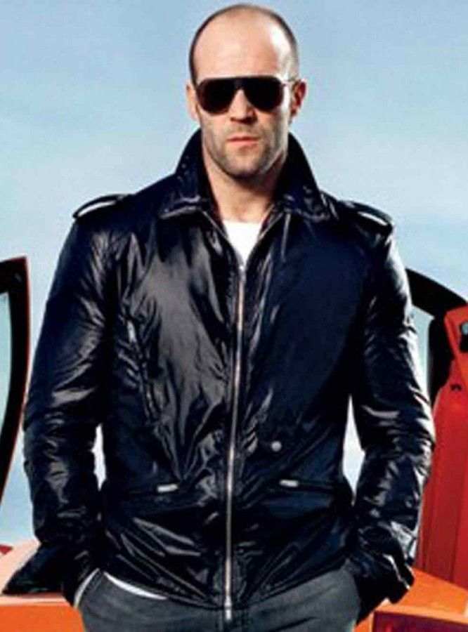 Jason Statham Black Leather Jacket for sale at Discounted Price $179.00 Buy Online Lan Shaw Fast And Furious 7 Jacket!!  #FastAndFurious7 #JasonStatham #sale #Shopping #Hot #Sexy #Stylish #winterseason #LeatherOutfit #MensCoat #Fashion #MensOutfit #MensFashion #StyleMens #WinterCostume #MensClothing
