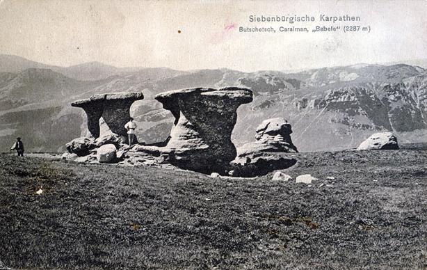 Bucegi - Babele - 1912