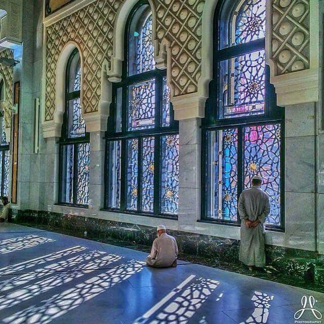 Beautiful view  inside masjid al Haram # Mecca