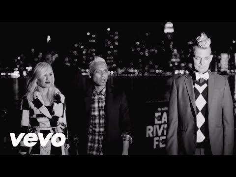 No Doubt - Push And Shove ft. Busy Signal, Major Lazer. Not the best song but the video is hella cool, as are most No Doubt videos.