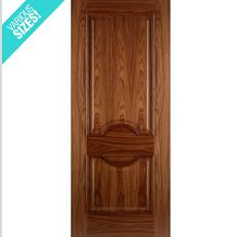 WoodDoor+ Internal Pre-Finished Walnut Panelled Lleida Door