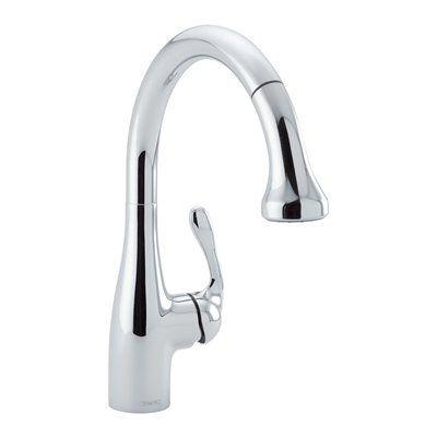 Hansgrohe 04066 Allegro E Gourmet Prep Sink Pull Down Kitchen Faucet Allegro E Gourmet Prep Sink