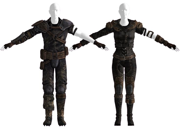 Leather armor (Fallout: New Vegas) - The Fallout wiki - Fallout: New Vegas and more