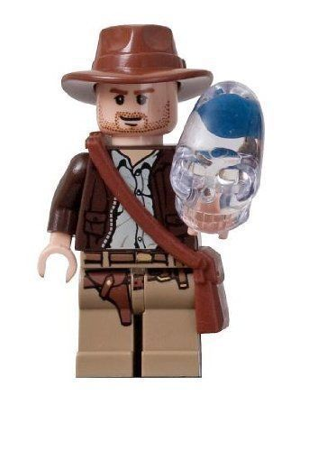 Indiana Jones (Crystal Skull) - Lego Indiana Jones Minifigure