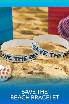 Save the beach bracelets ~ Free Teen Beach 2 Party Printables and Recipes | SKGaleana