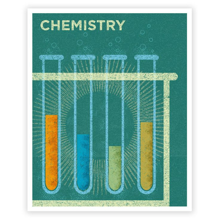 Science Art for Girls  Art for Boys Room  Chemistry by johnwgolden, $21.00