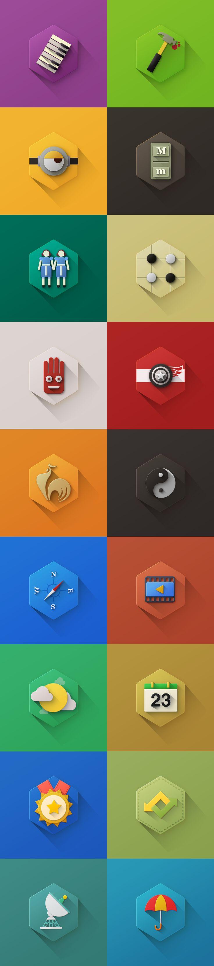 Wireless icon line iconset iconsmind - Long Shadow Icons Avec Un Design Micro Texture