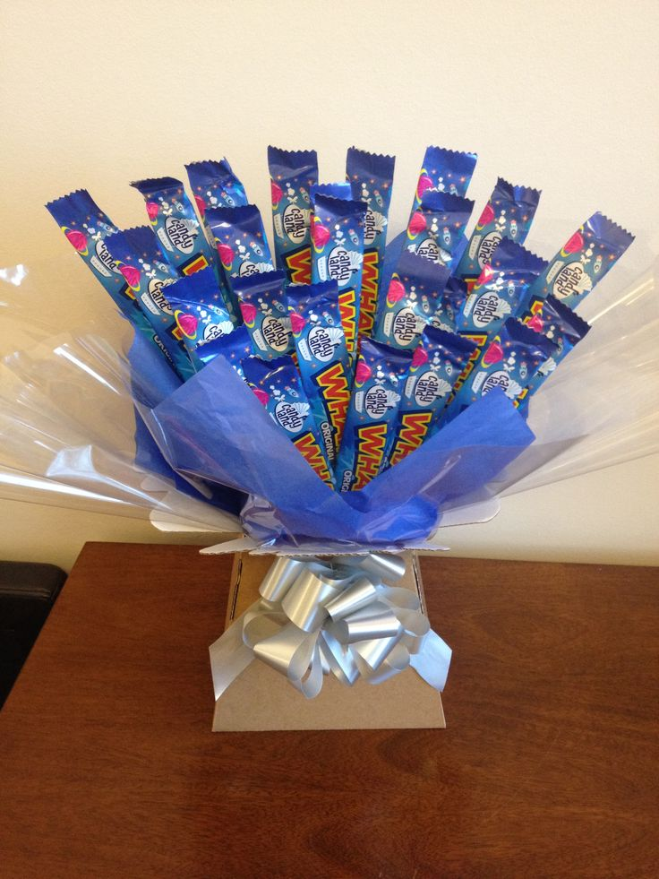 Wham bar sweetie bouquets