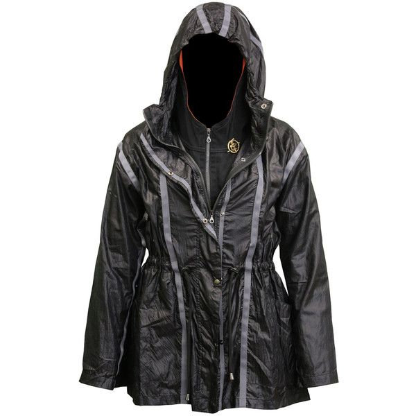 Hry o život Katniss Everdeen bunda Drozdajka brošňa ZADARMO ❤ liked on Polyvore featuring jackets, the hunger games and fandoms