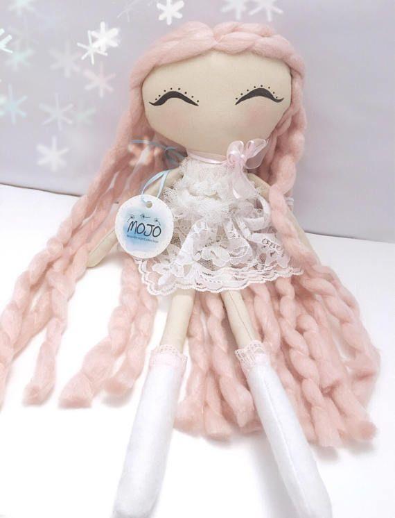 Rag doll / handmade doll / heirloom doll / fabric doll /