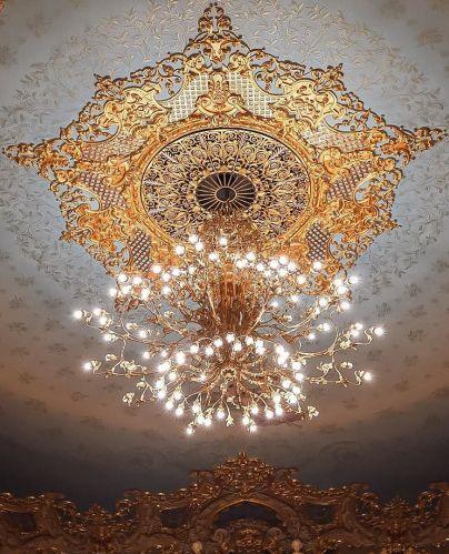 119 best Gold images on Pinterest Ceiling lamps, Light fixtures