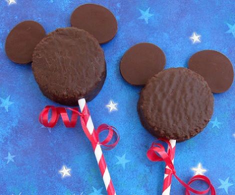 Galletas caseras de Mickey Mouse