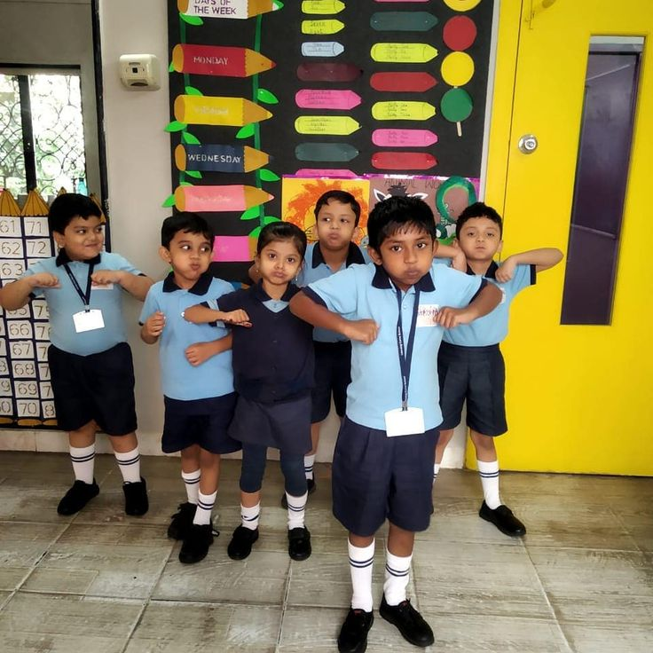 Ukg kids playing Follow the leader game . #education #school #learning #love #ch… – School