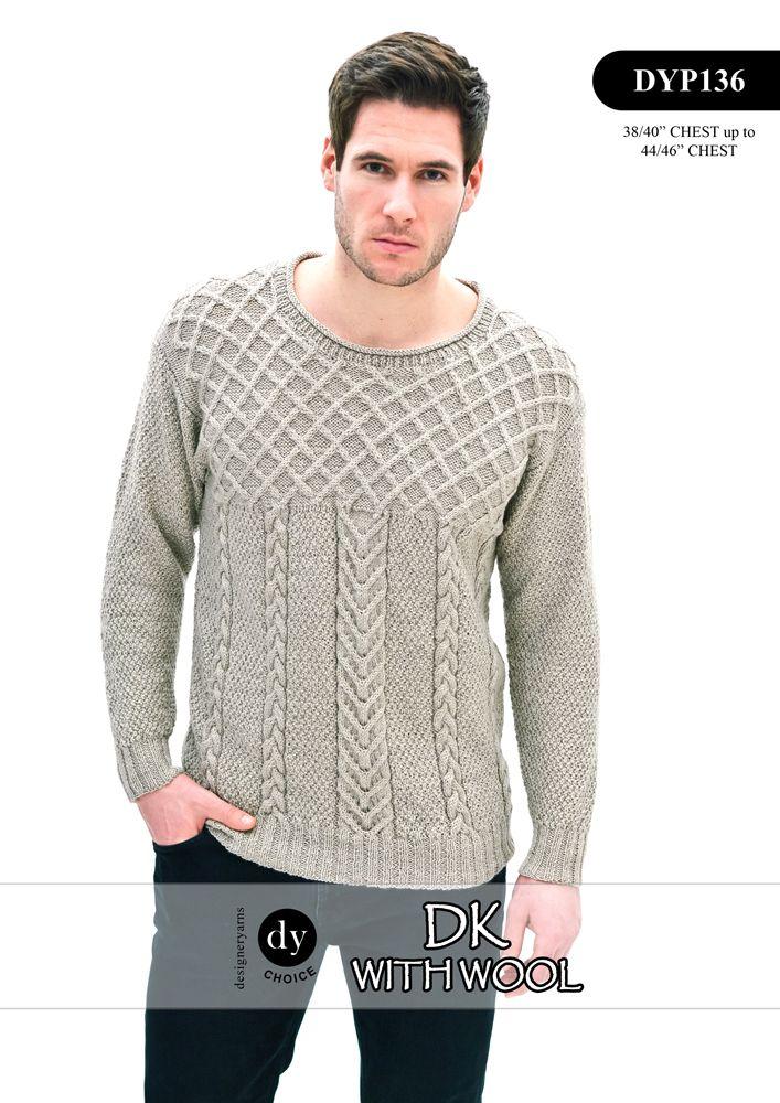 DYP136 Single Leaf Pattern : DY Choice Patterns : Designer Yarns