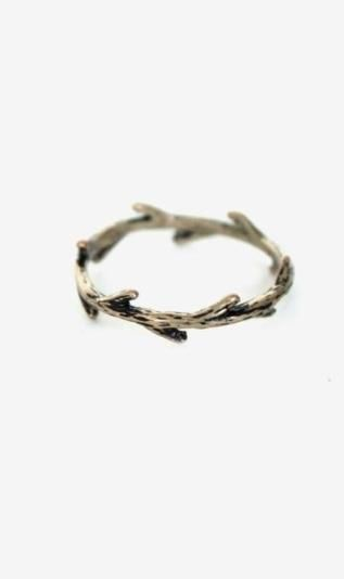 Delicate Branch Ring - wear it alone or stack with other styles $10