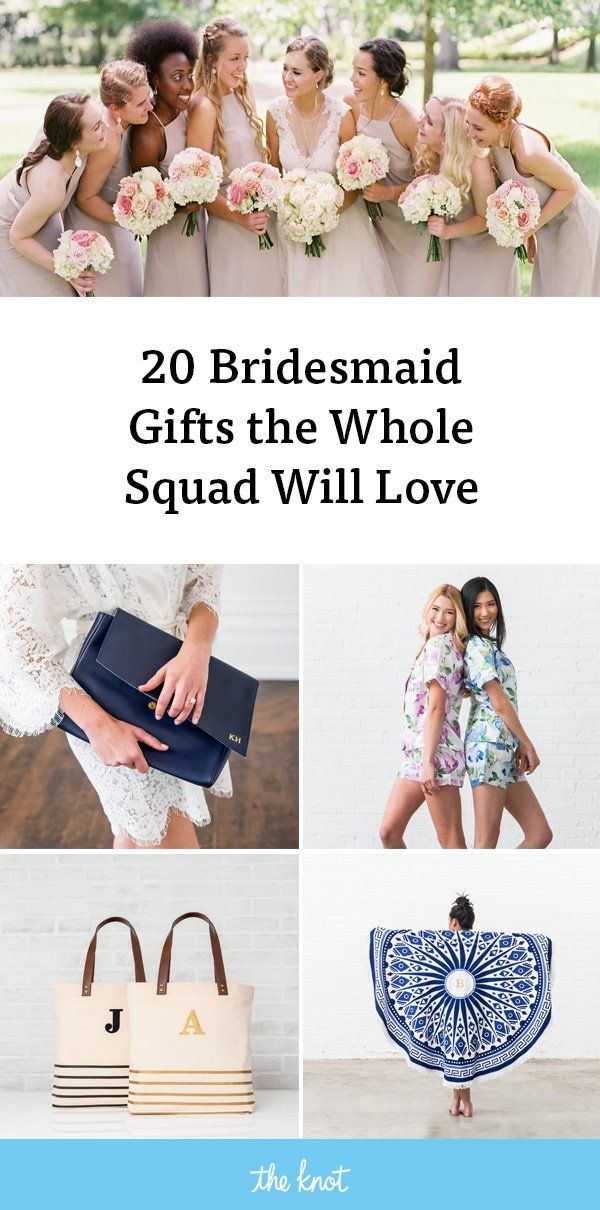 Unique Bridesmaid Gifts The Whole Squad Will Love