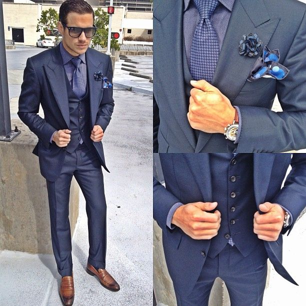 70 best 3 piece suits images on Pinterest | Men fashion, Clothes ...