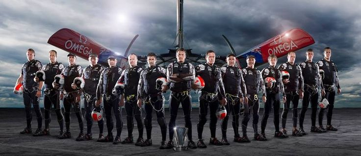 Emirates Team New Zealand - they're winners to us!