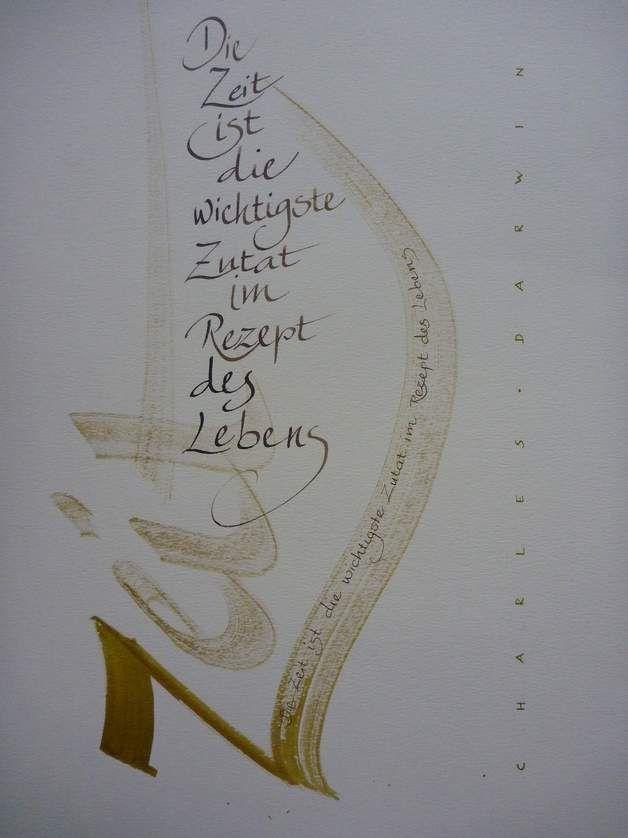 Text Die Zeit Ist Die Wichtigste Zutat Im Rezept Des Lebens