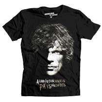 Playera Lannister Mascara De Latex Game Of Thrones Tyrion