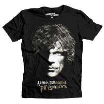 Playera Lannister Mascara De Latex Game Of Thrones Tyrion