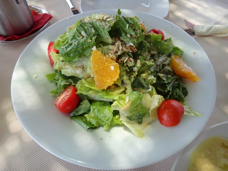 salad with citrus