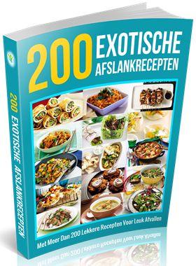 200 Exotische Afslankrecepten
