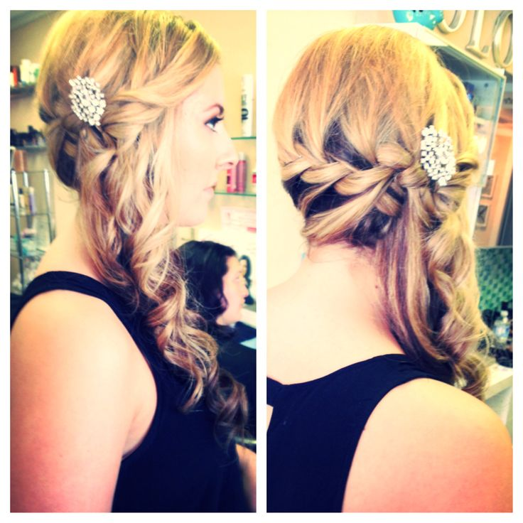 Updo for Prom #bbbeauty #bbbteam #glam #braid www.brittanybuckhair.com