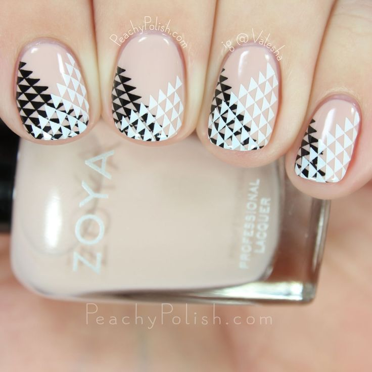 UberChic Beauty Wild West-01 Geometric Double Stamping | Peachy Polish